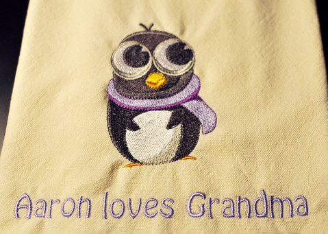 Penguin Kitchen Towel
