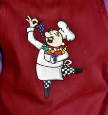 Dancing Chef Apron