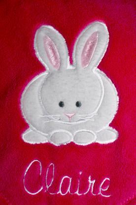 Bunny Applique Blanket