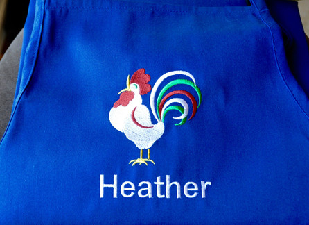 Rooster Apron