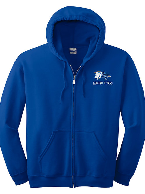 Legend Embroidered Full-Zip