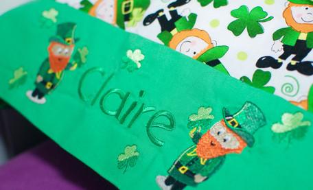 St. Patrick's Day Pillowcase