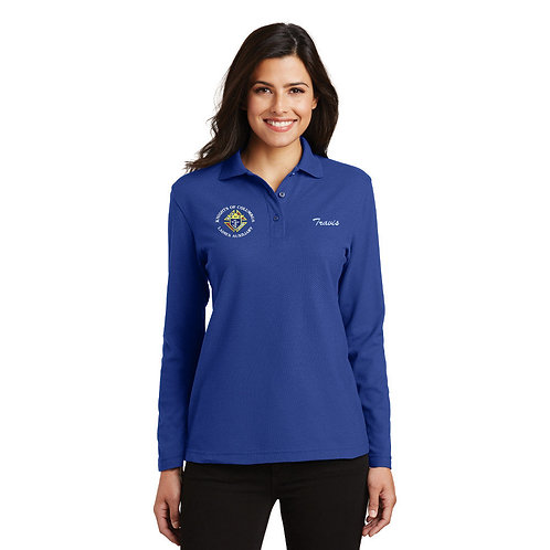 Ladies Auxiliary Council Long Sleeve Polo