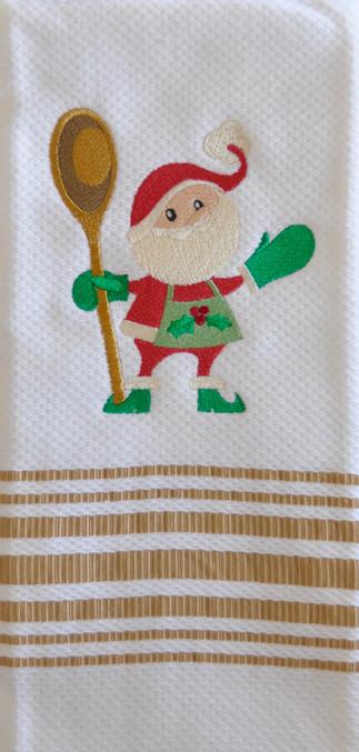 Santa Spoon Towel