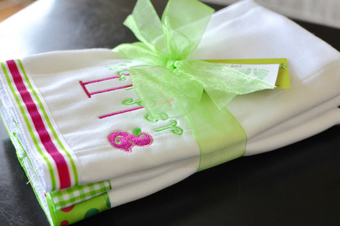 Pink/Green Cleanup Cloth Set