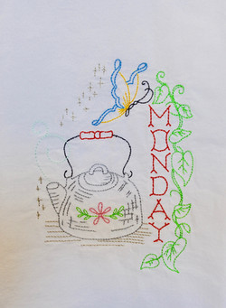 Monday Vintage Embroidery