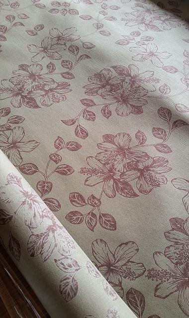 "ROCO's textile "" Koki'o ke'oke'o vintage 2015 """