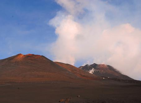 Etna active volcano, Sicily, Italy