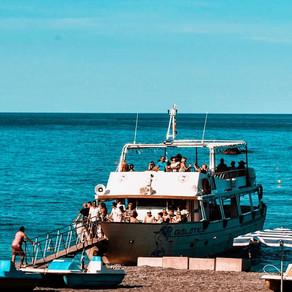 Boat trip with Galatea