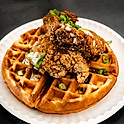 Kung Pao Chicken & Waffles