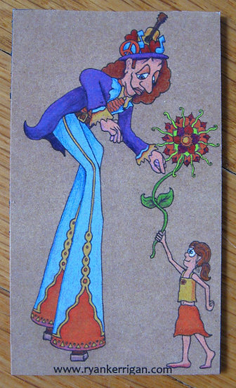 stiltflower magnet