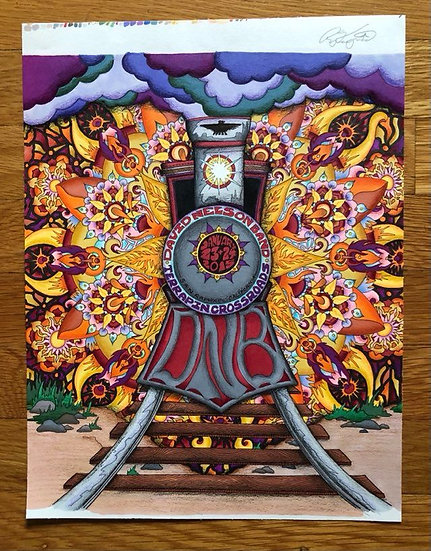 ORIGINAL ART: david nelson band 2015