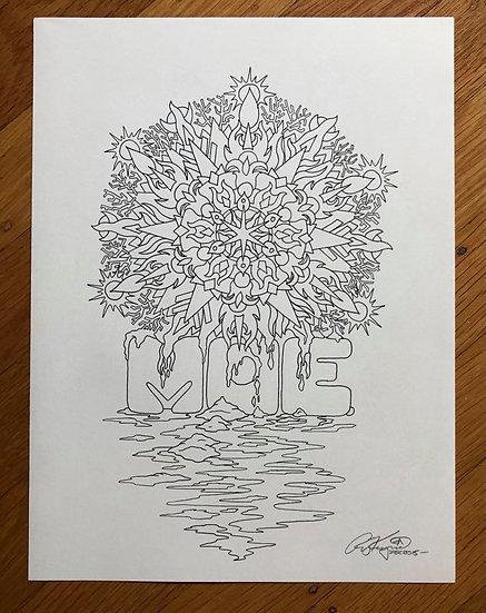 ORIGINAL ART: moe. 2015