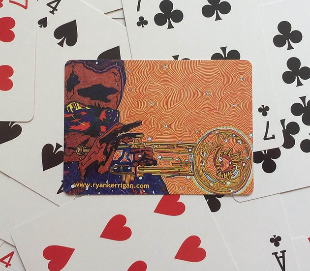 playing cards : miles