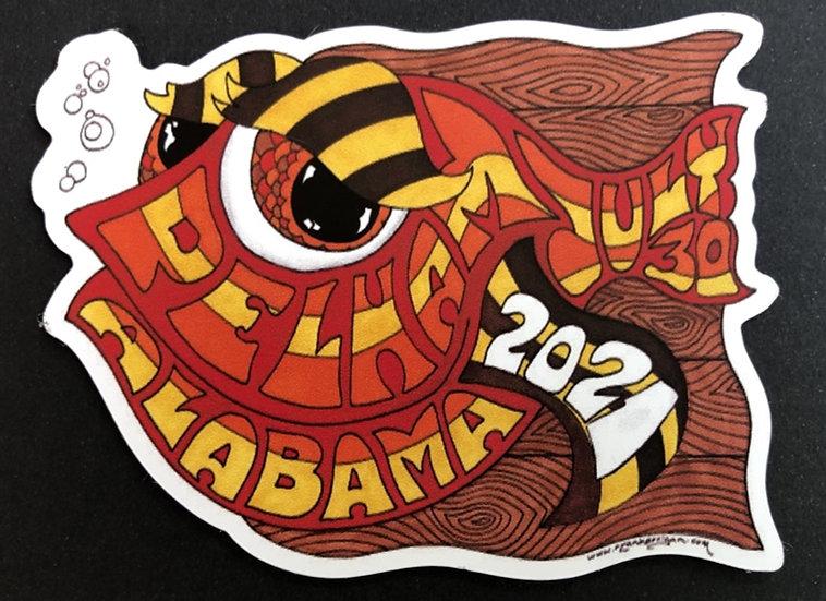2021 pelham happy fish magnet