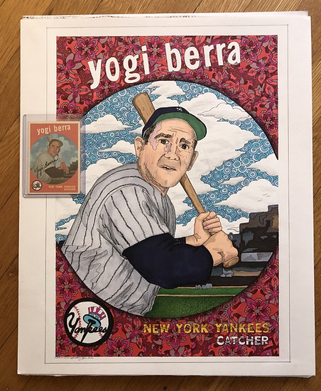 A PACK OF CARDS: 1959 yogi berra