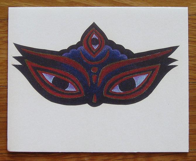 greeting card ~ eyes