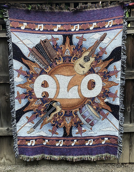 ANIMAL LIBERATION ORCHESTRA woven blanket
