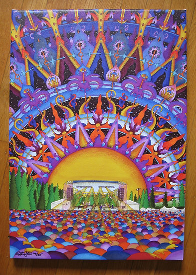 MAINSTAGE SUNSET canvas print