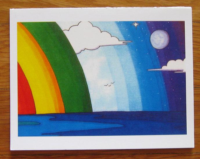 greeting card ~ ocean birds