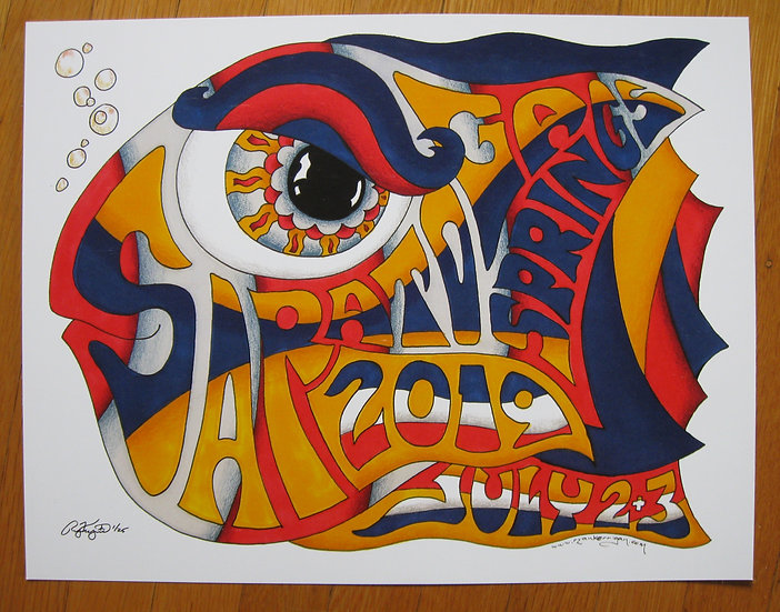 2019 spac happy fish poster