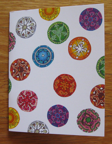 greeting card ~ marbles