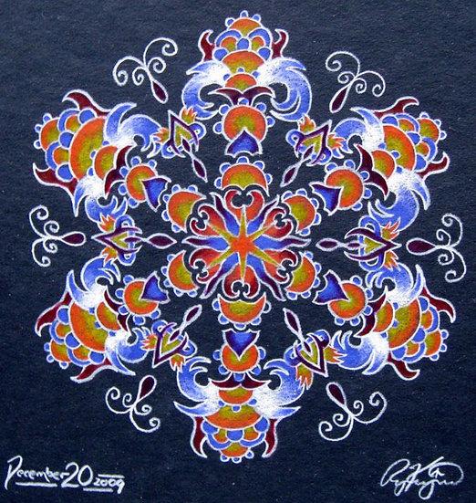 mandala series 12/20/09