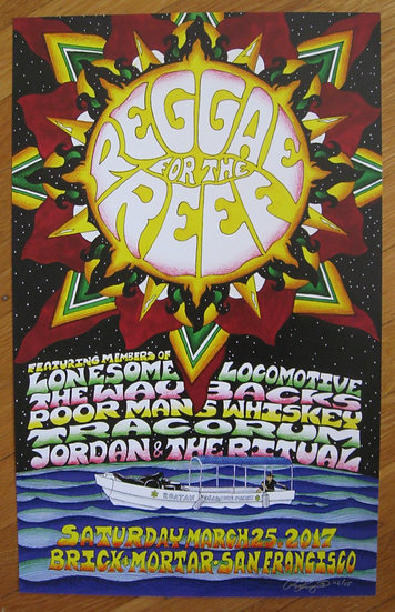 reggae for the reef benefit show 2017