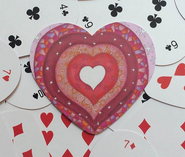 playing cards : hearts