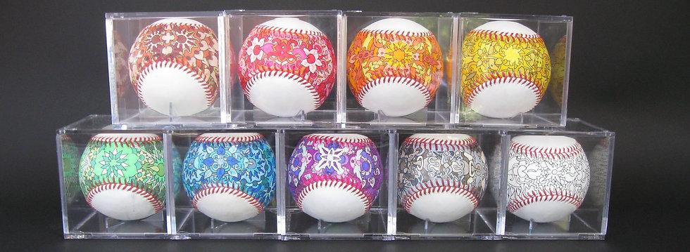 2014 opening day baseballs