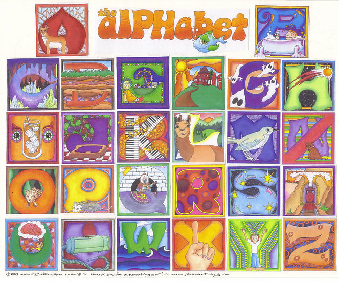 the alPHabet poster