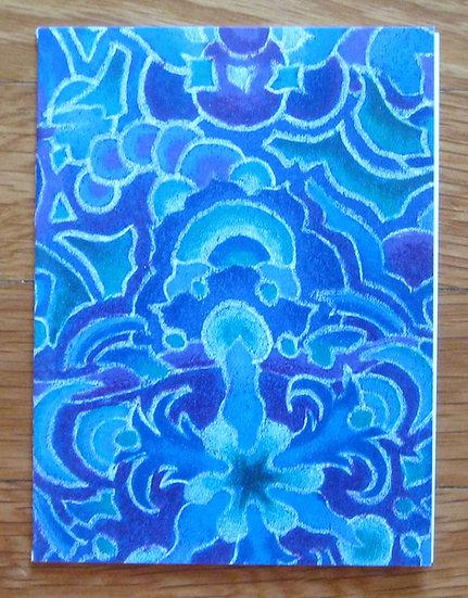 greeting card ~ blue