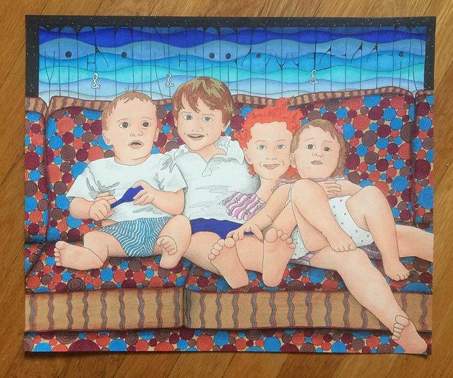 miller family portrait #2