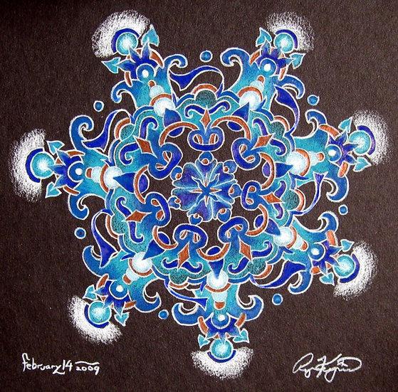 mandala series 2/14/09