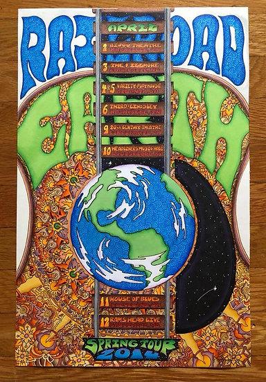 ORIGINAL ART: railroad earth 2014