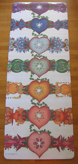 layers of love yoga mat