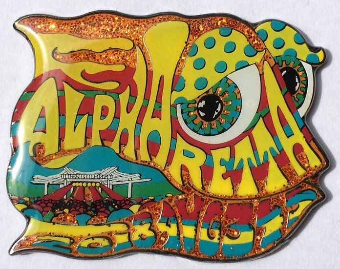 2018 alpharetta happy fish pin