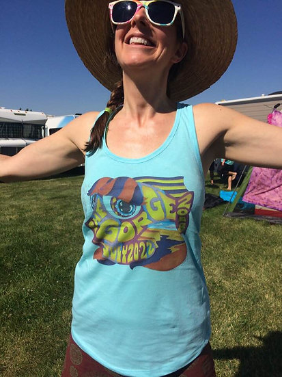 2018 gorge happy fish women's tank