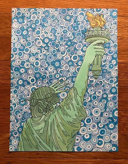 ORIGINAL ART: liberty?