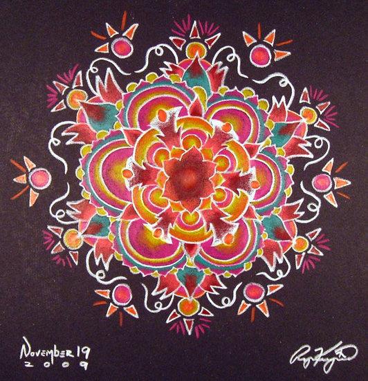 mandala series 11/19/09