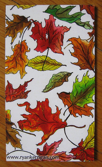 leaves magnet