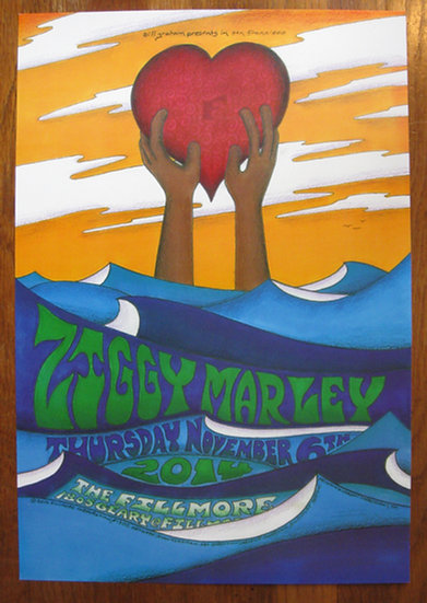 ziggy marley fillmore poster #F1300