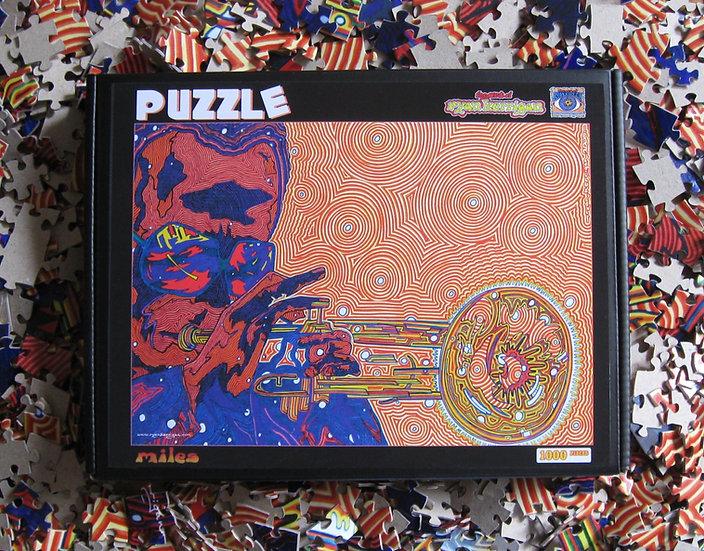 MILES puzzle (1000 pieces)
