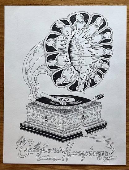 ORIGINAL ART: california honeydrops 2017