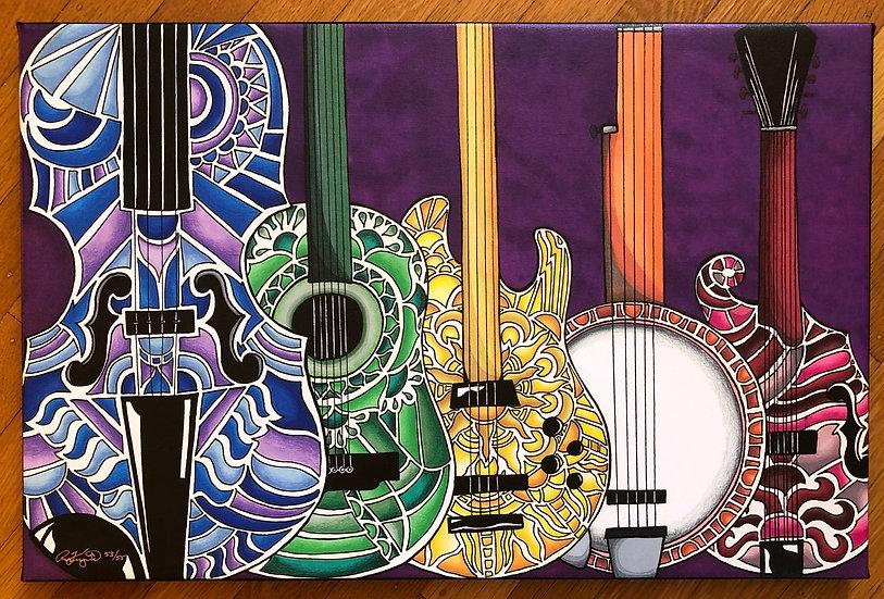 Instruments Canvas