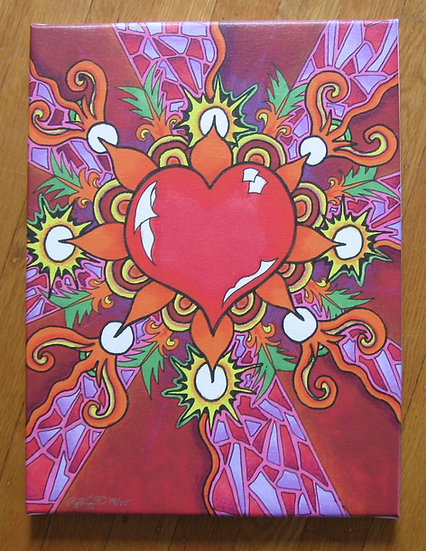 LOVEcanvas print
