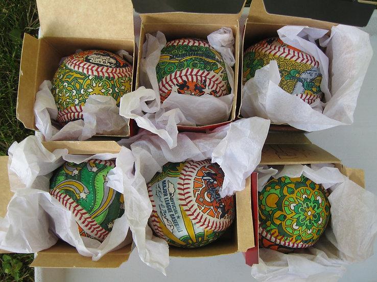 2018 battle of the bay baseballs
