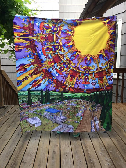 FESTIVAL fleece blanket
