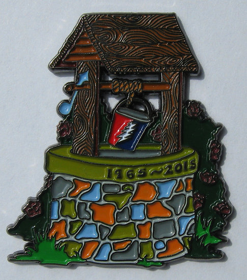 "grateful dead ""fare thee well"" well pin"