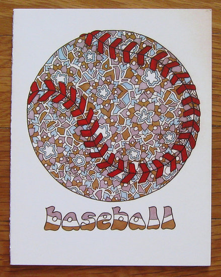 greeting card ~ baseball